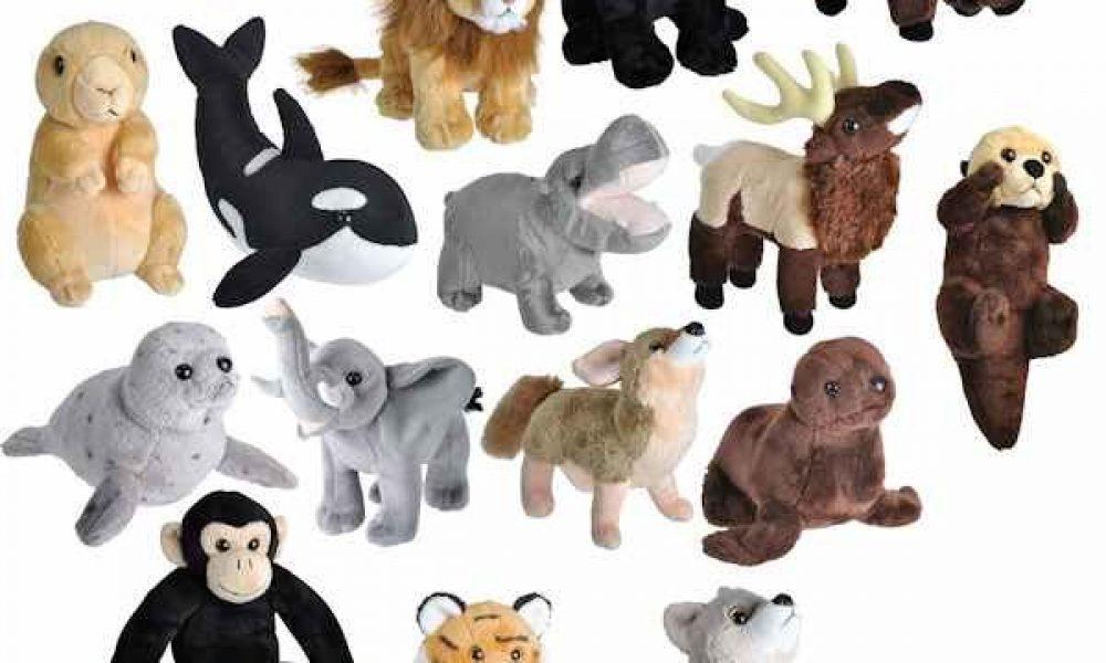 Les animaux en peluche