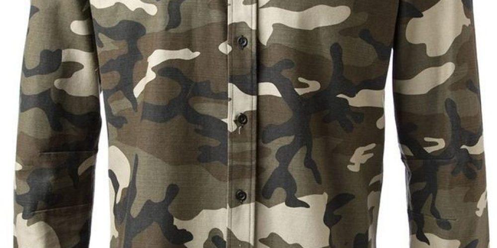 Si vous allez camper, habillez-vous avec des vêtements de camouflage