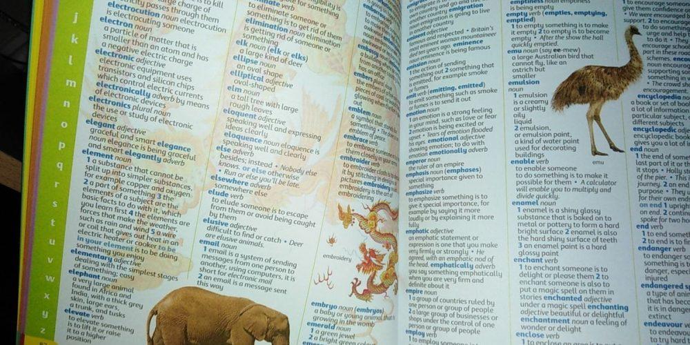Dictionnaires pour enfants en anglais (également gratuits et au format pdf)