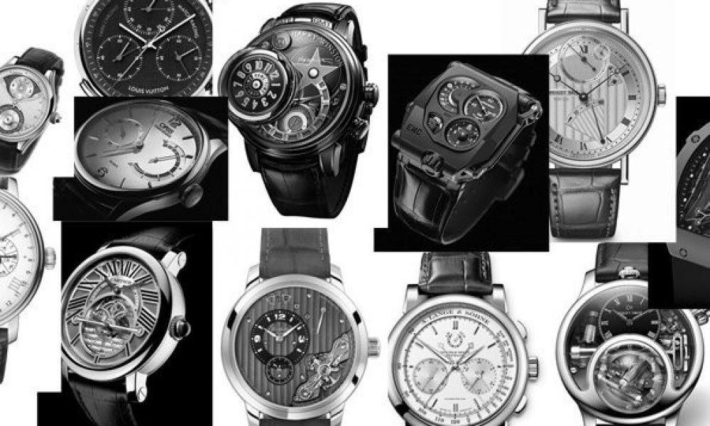 Il existe de nombreux types de montres chronographe