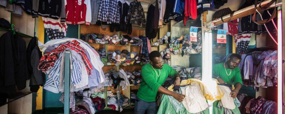 Le secteur des vêtements et chaussures d'occasion en Afrique